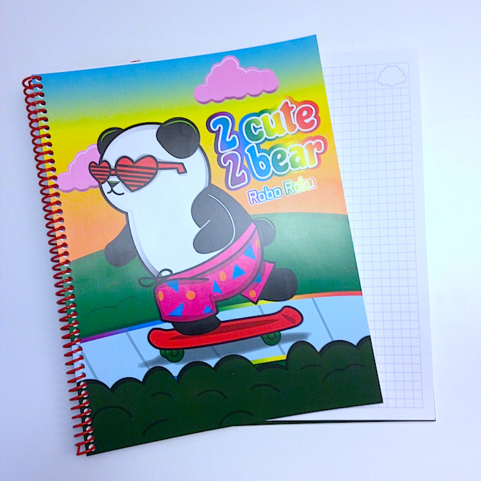 Rad Panda Notebook